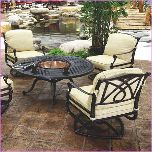 Nice Picture Of Hampton Bay Fire Pit Selections For Indoor And Outdoor