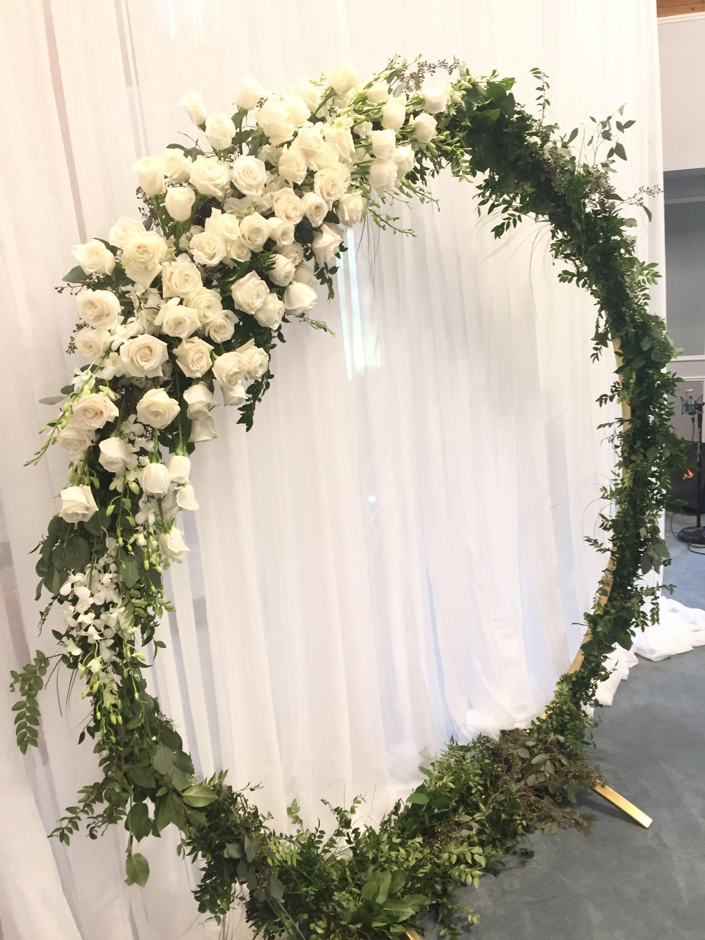 Moon Gate Wedding Arch In 2019 Wedding Ceremony Arch Diy