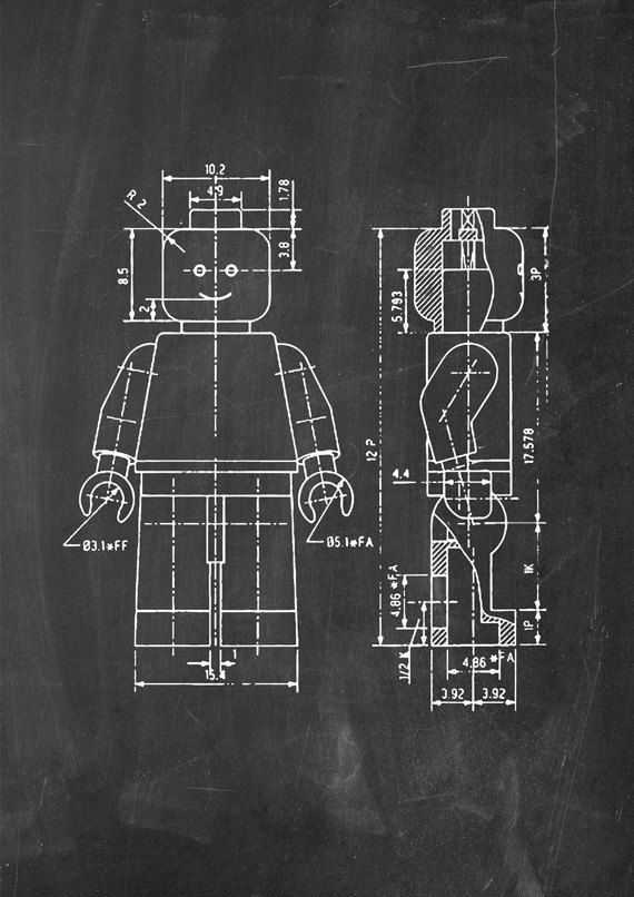 Lego Patent Wall Art Poster 4 by PatentPosters on Etsy, £4.00 ...