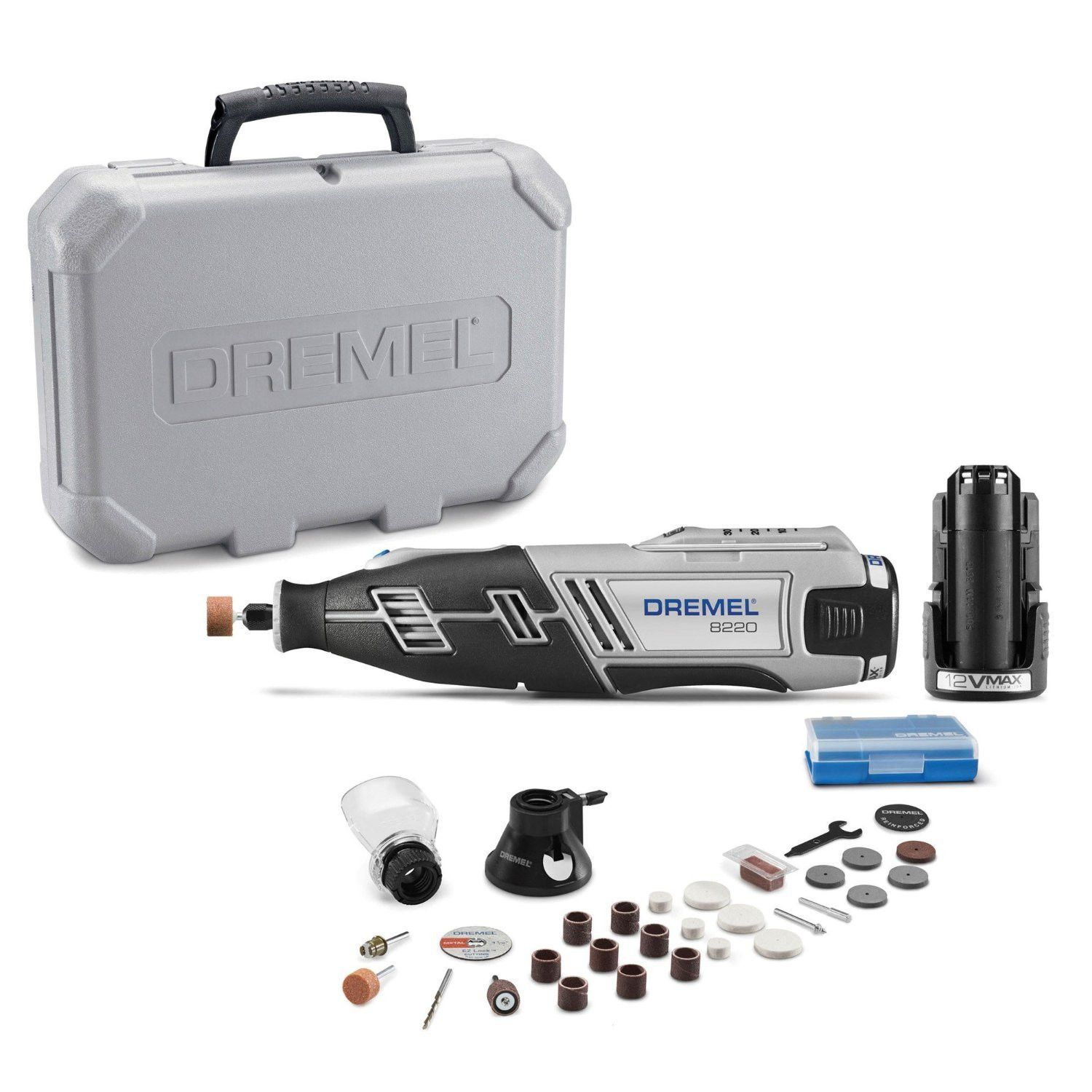 Dremel 8220 2 28 12 Volt Max Cordless Rotary Tool With Accessories Dremel Rotary Tool Dremel Projects