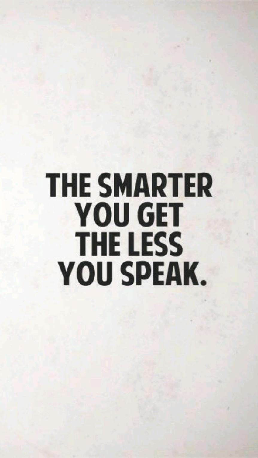 SPEAK WISELY