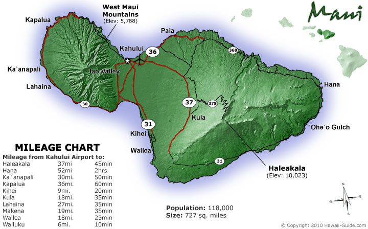 picture regarding Maui Map Printable titled Maui Maps Hawaii within 2019 Maui hawaii, Maui family vacation, Hawaii