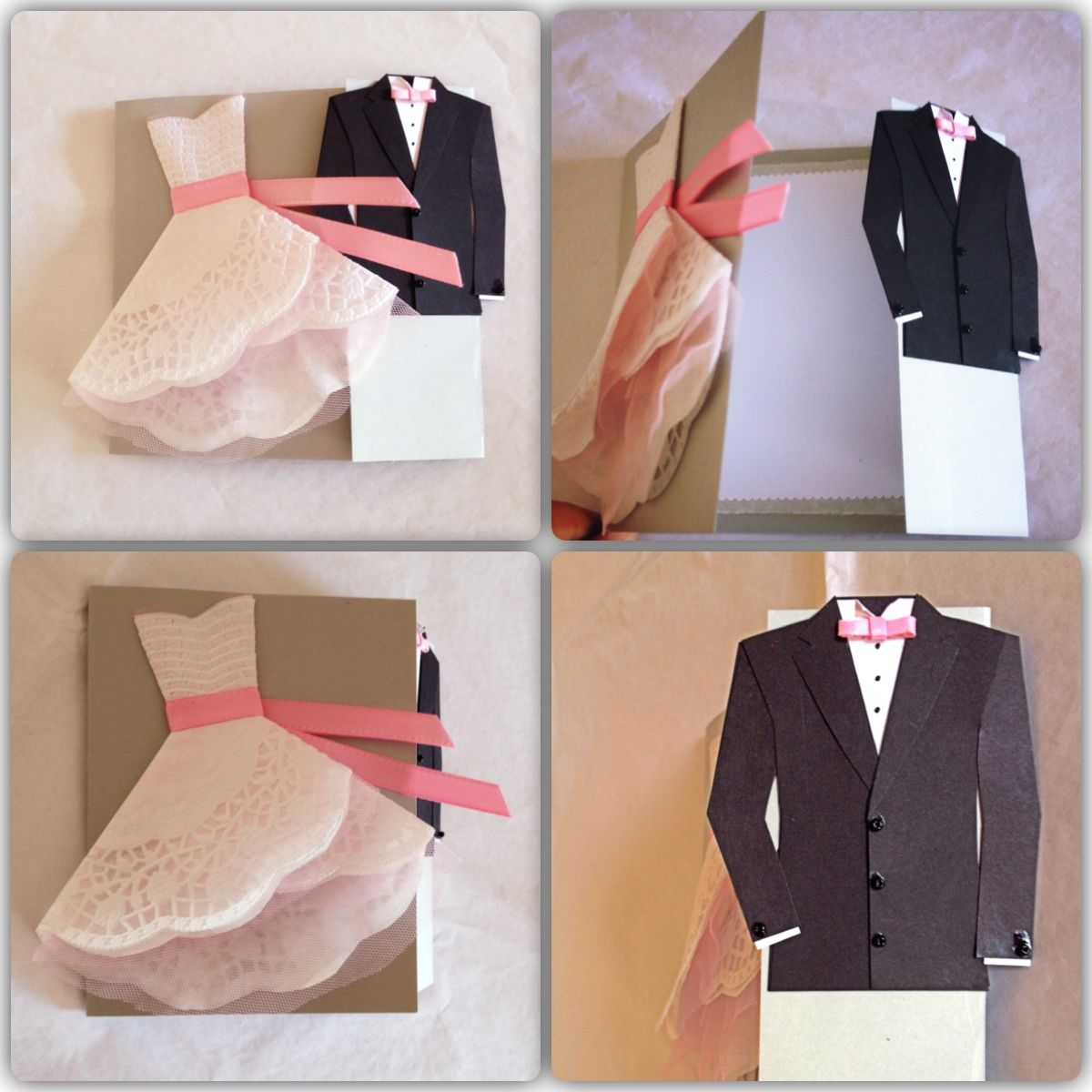Connu wedding card, congratulations card, scrapbook, handmade, biglietto  KE12
