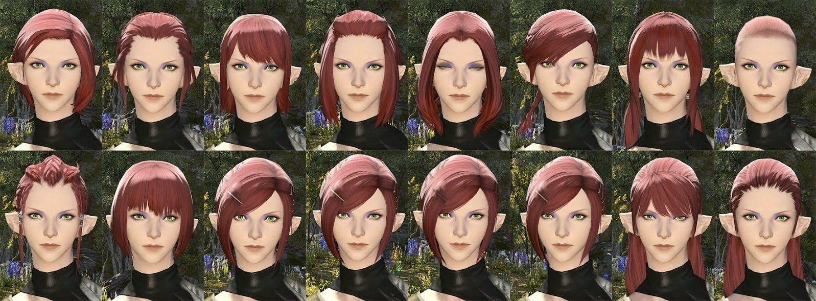 related image | hair | ffxiv character, character creation