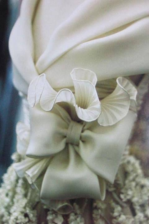 Valentino wedding dress detail