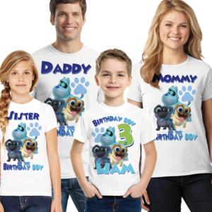 Boy Puppy Dog Pals Birthday Family Shirts Birthday Boy Shirts Birthday Shirts Custom Birthday Shirts