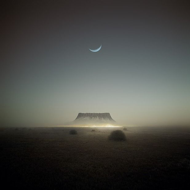 """""""inspired by Plateau v2 - Lustmord"""" by Michal Karcz (2012)"""