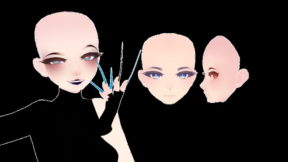 Mmd Tda Head Edit Download By Saltiestsatan On Deviantart Anime Character Design Interesting Faces Anime Hair