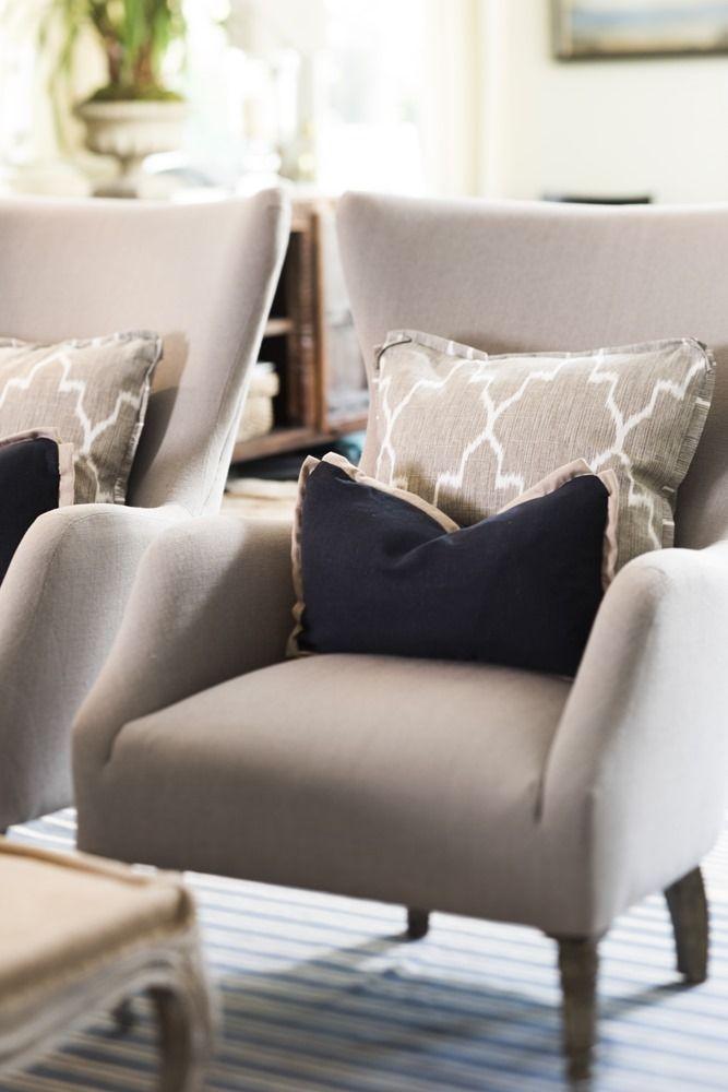 Gray And Navy Aidan Gray Fine Furnishings Home