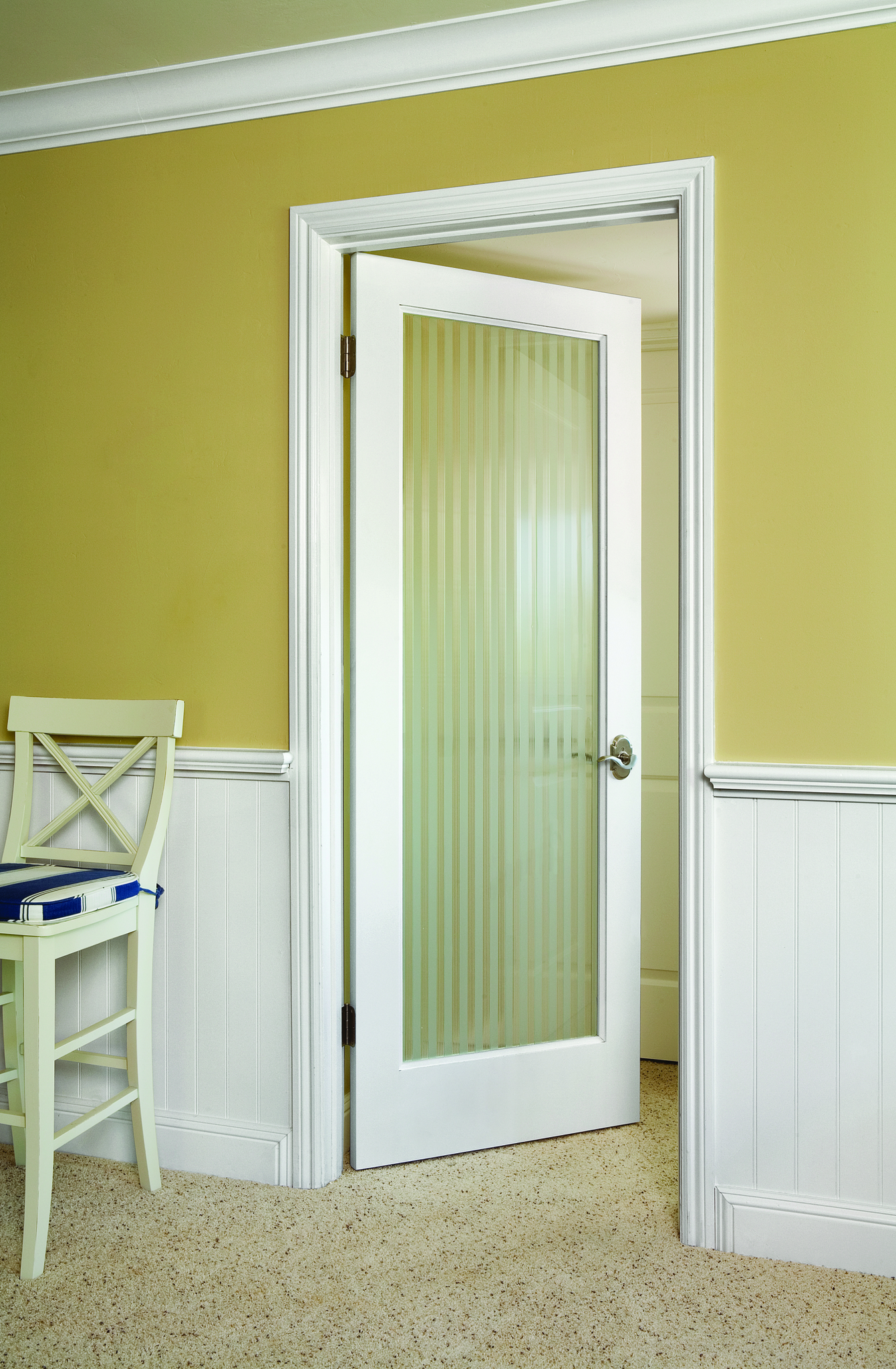Reeded Glass Door. Perfect is privacy is a issue. Charlotte Doors ...