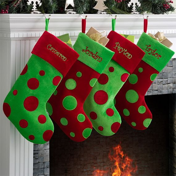 Superior Christmas Stocking Craft Ideas Part - 11: Easy Holiday Christmas Stocking Crafts