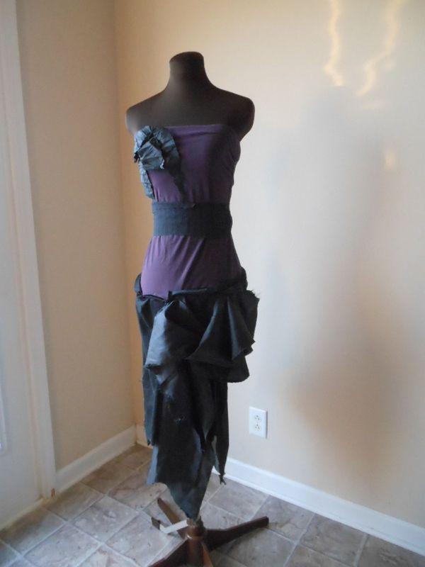STEAMPUNK WEDDING GOWNS | Steampunk Wedding Dress Fantasy Alternative Boho Bride Black Tattered ...