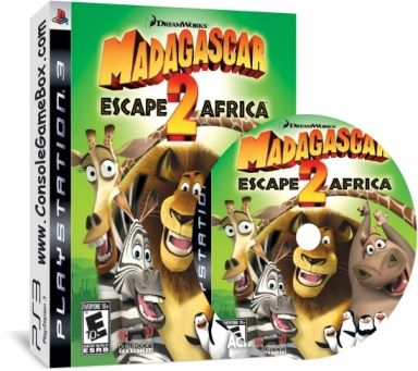 Madagascar Escape 2 Africa - Googlecus (NTSC-US)(CFW) Ps3