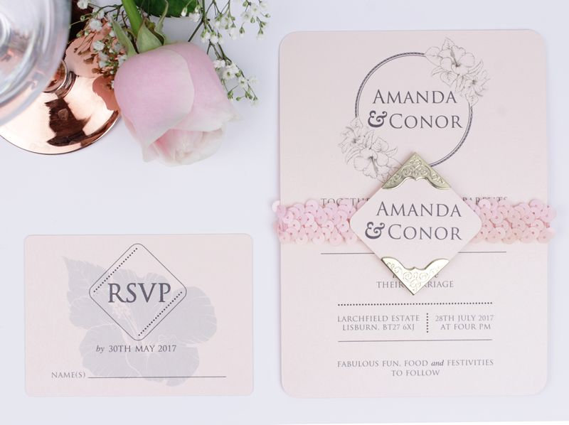 5 Fresh Ideas For Your Wedding Stationery And 10 Discount Wedding Ideas Magazine Wedding Stationery Discount Wedding Invitations Blush Pink Wedding Invitations