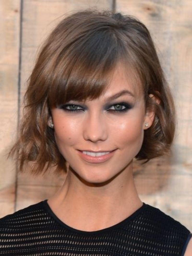 23 Hairstyles For Your Diamond Shape Face Hair Pinterest