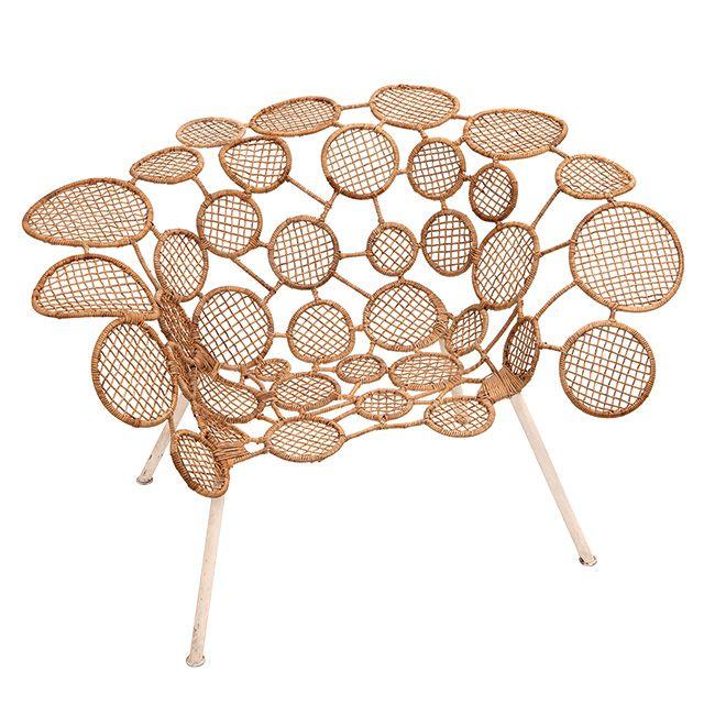 Racket Chair (Circles)