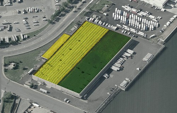 The world s largest rooftop farm could soon grace the top - Garden city ny distribution center ...