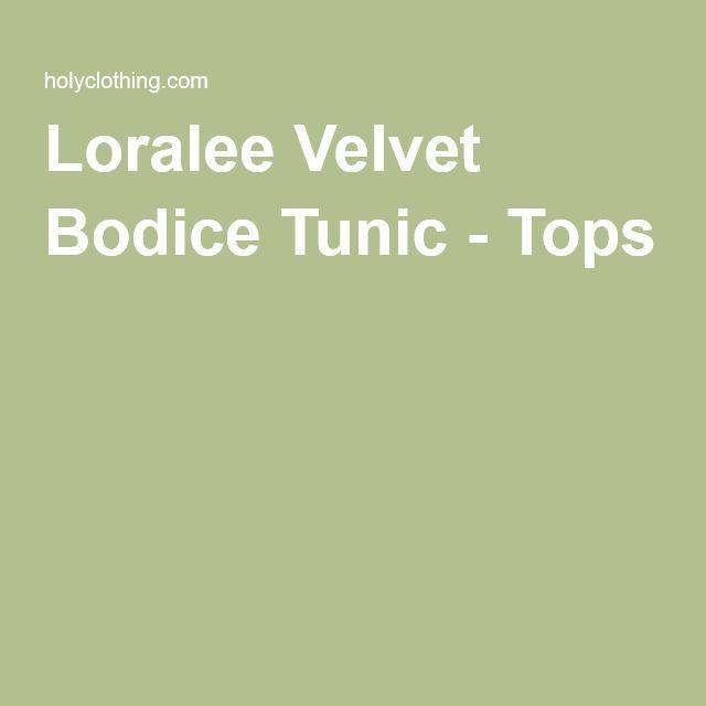 Loralee Velvet Bodice Tunic - Tops