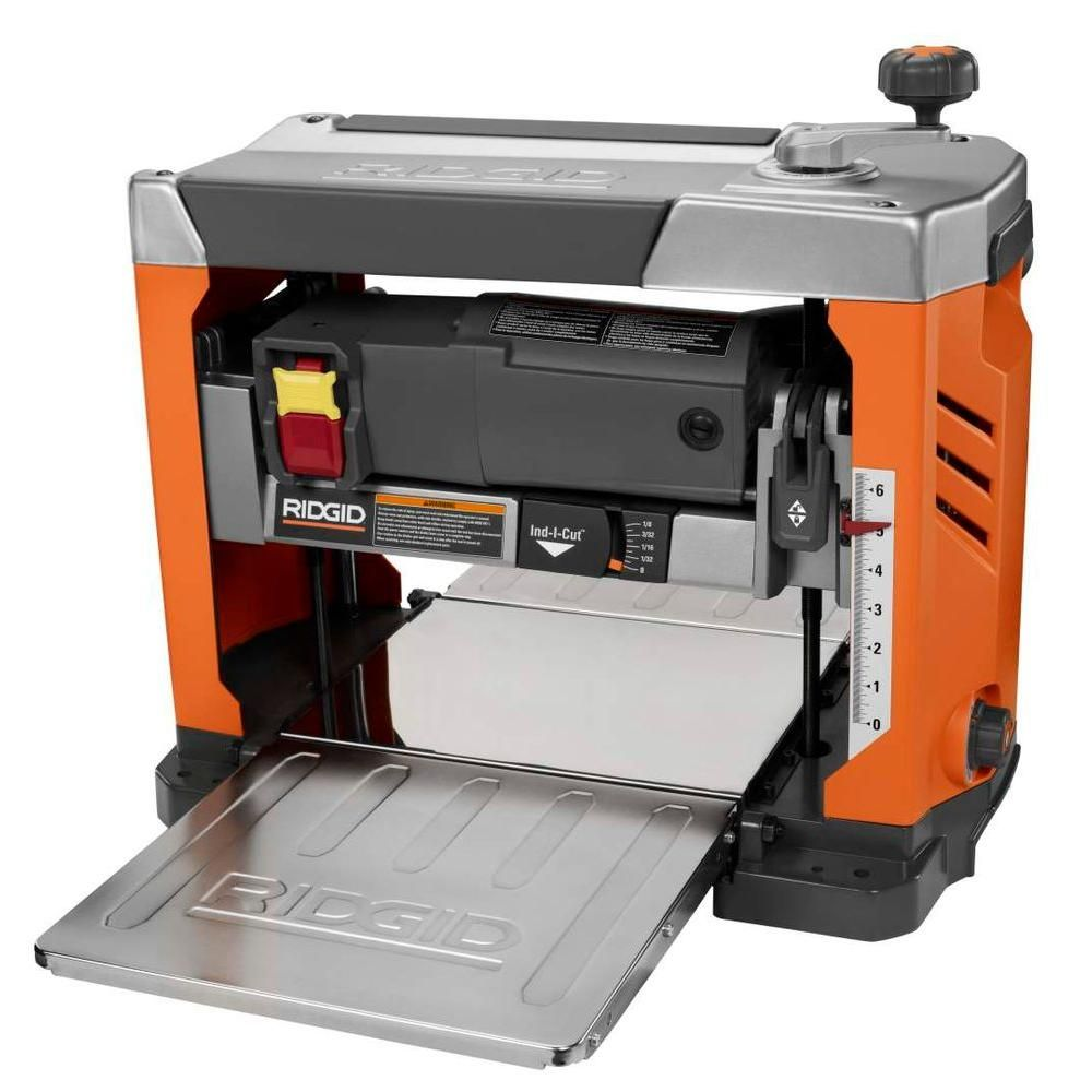 Ridgid 13 In Thickness Corded Planer R4331 Workshop