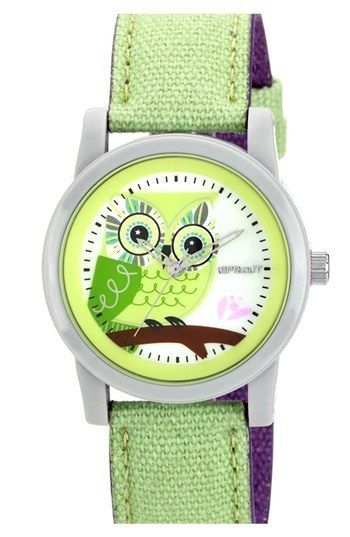 SPROUT Watches Owl Dial Watch, 38mm     $40.00