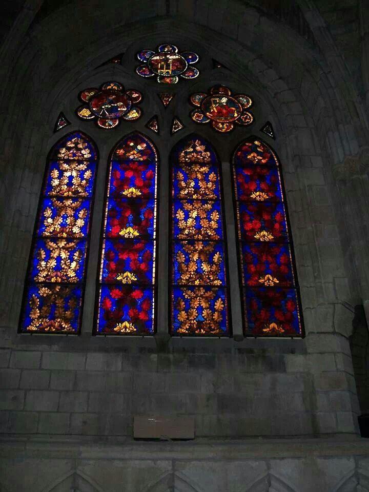 Vidrieras de la Catedral.