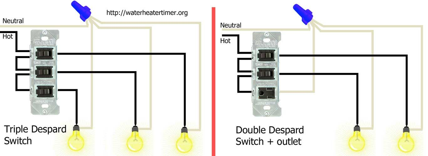 Wiring diagram triple light switch wire center despard switches 1000 jpg 1 367 500 pixels electric pinterest rh pinterest com double light switch wiring diagram 3 way switch wiring diagram variations cheapraybanclubmaster Images