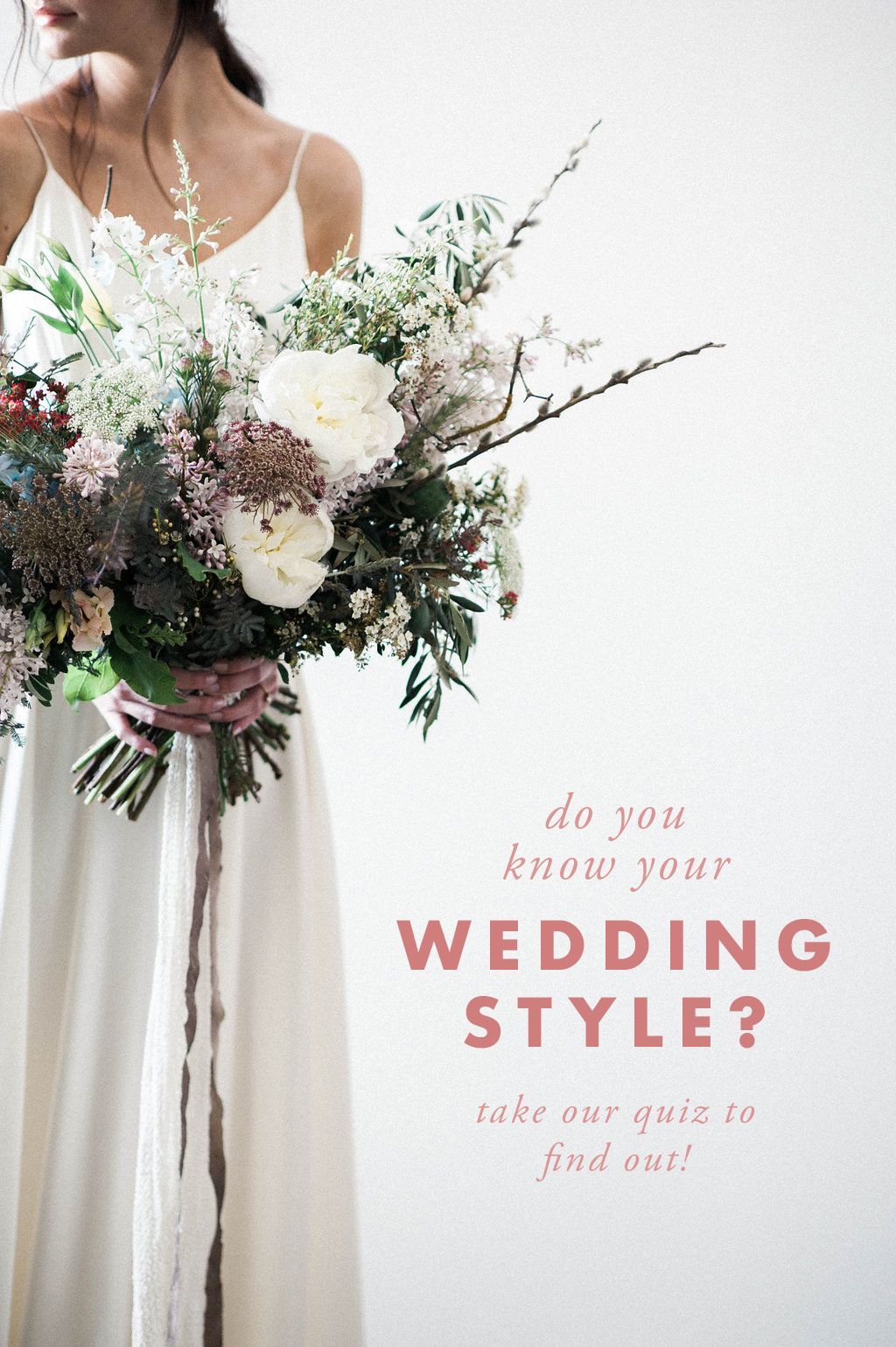Overwhelmed by wedding ideas on pinterest take our style quiz and