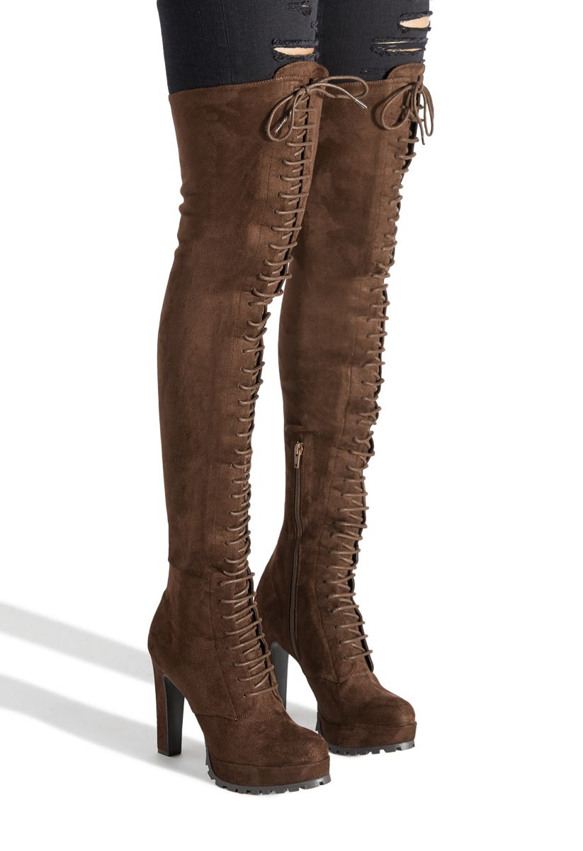5aab483d297c9 REMI LACE UP BOOT - ShoeDazzle | fashion in 2019 | Shoes, Boots, Fashion