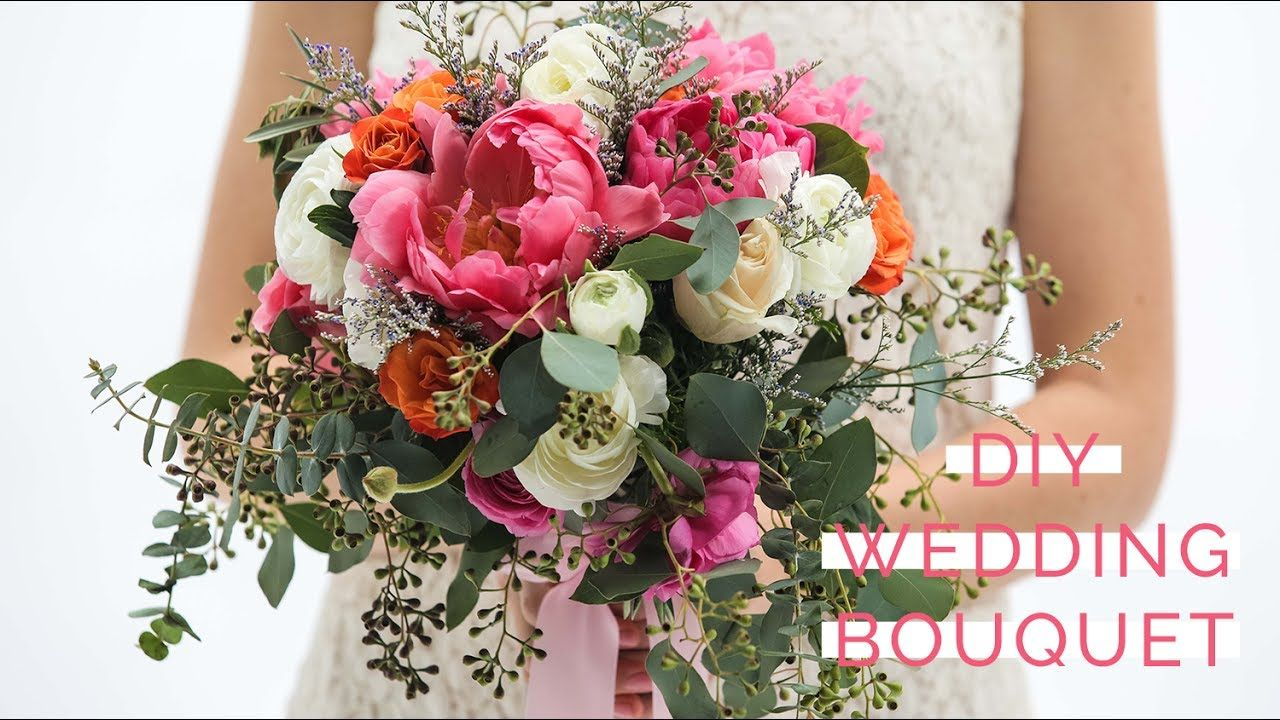 How to Make Your Own Classic and Romantic Wedding Bouquet   i love ...