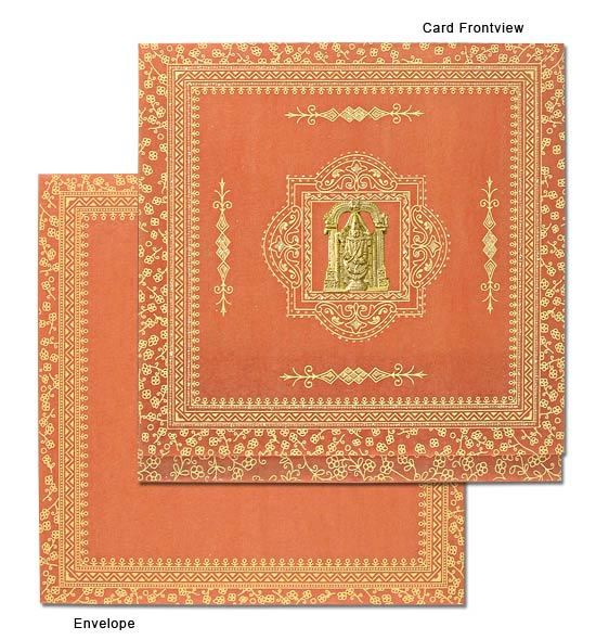 Buy South Indian Wedding Invitation Cards
