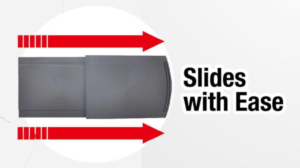 Sliding Kitchen Caddy. Great for coffee pot or pots,pans,lids, etc...asseenontv.com