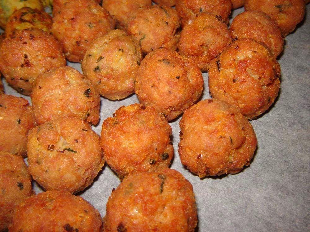 Cuoche clandestine: Polpettine di carne - Meatballs -Albòndigas de carne