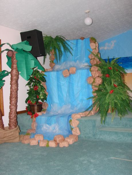 This Is An Awesome Waterfall Vacation Bible School
