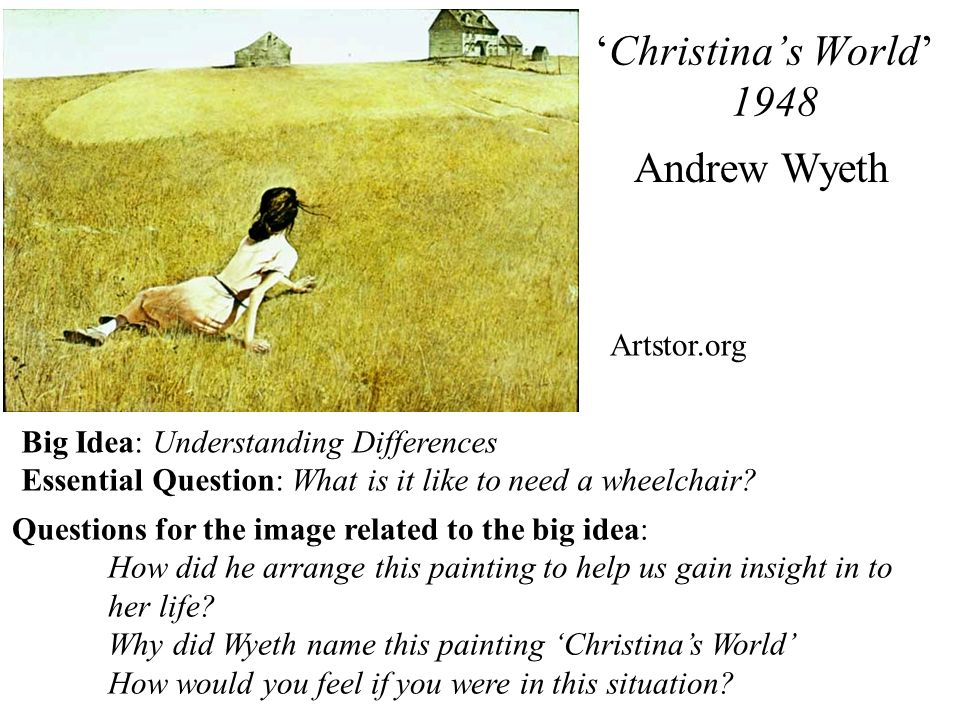 Examples Of Why Questions In Art Big Idea Google Search This Or That Questions Why Questions Andrew Wyeth
