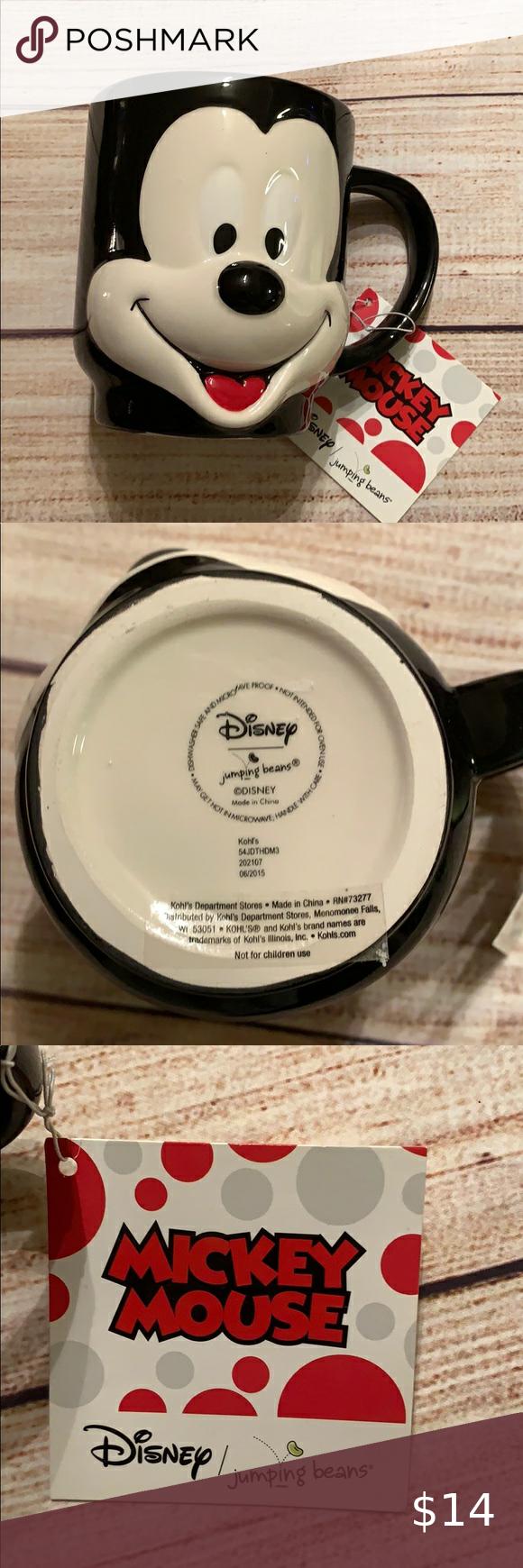Disney Mickey Mouse Coffee Mug In 2020 Disney Mickey Mouse Mickey Mouse Disney Mickey