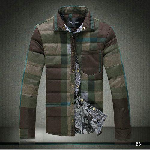 2015 Chaude Doudounes Burberry Homme Fashion Popular coton