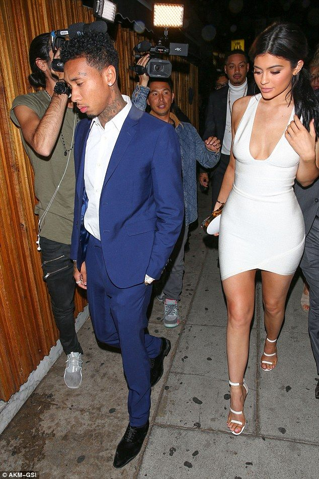 Time to party: Justin Bieber was hosting a party at The Nice Guy in Hollywood