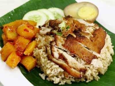 Resep Nasi Ayam Jamur Tim Hainan Khas Semarang Bumbu Balado Makan Malam Resep Jamur