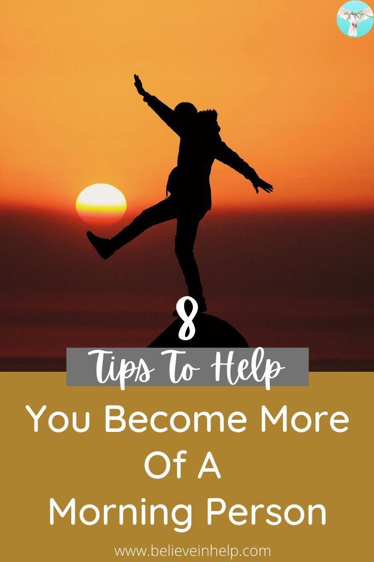 Photo of 8 Tipps, die Ihnen helfen, mehr zu einem Morgenmenschen zu werden – Glauben Sie an Hilfe