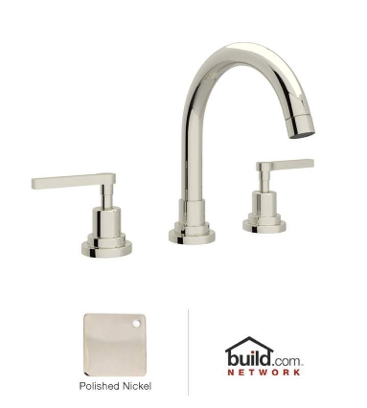 View the Rohl A2228LMPN-2 Polished Nickel Lombardia Bath Widespread ...