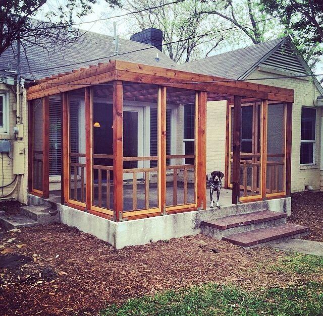 screened in porch diy porch