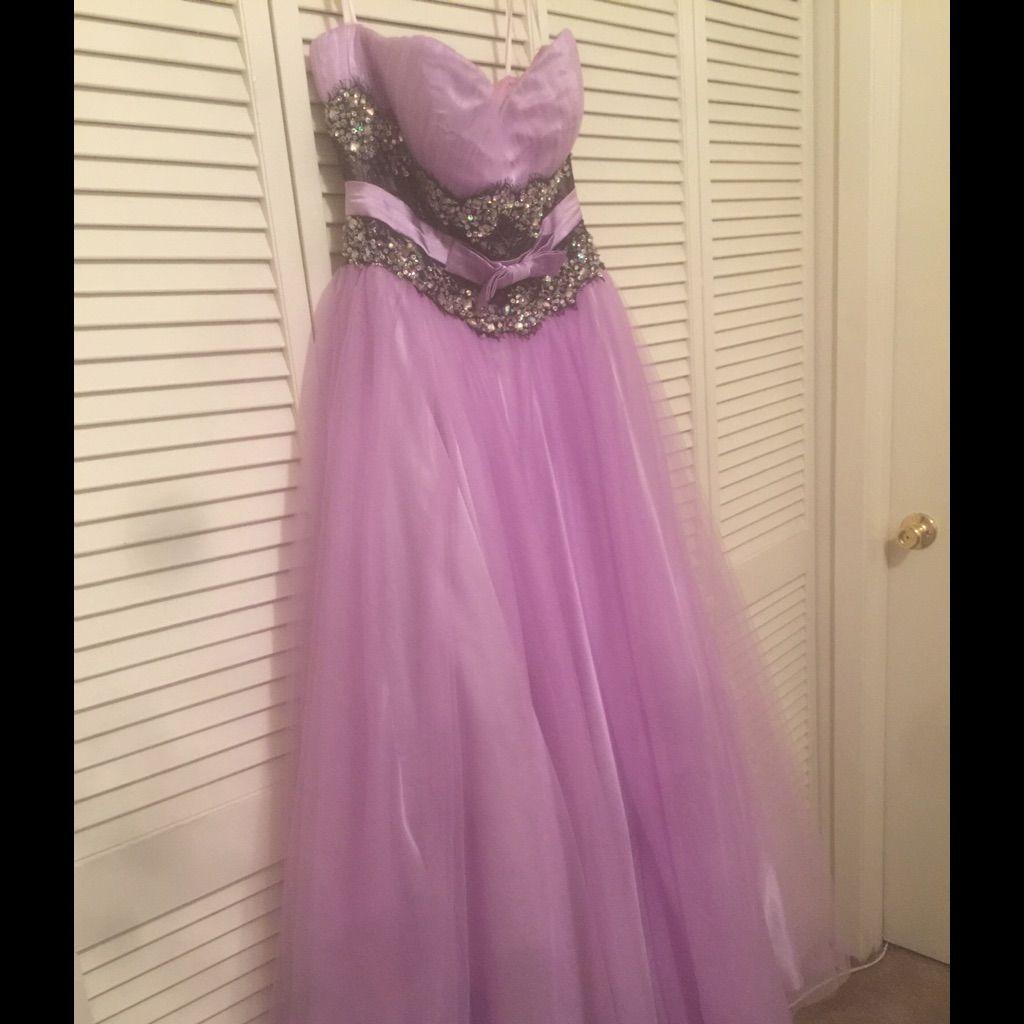 Mac duggal lavenderpurple prom dress products