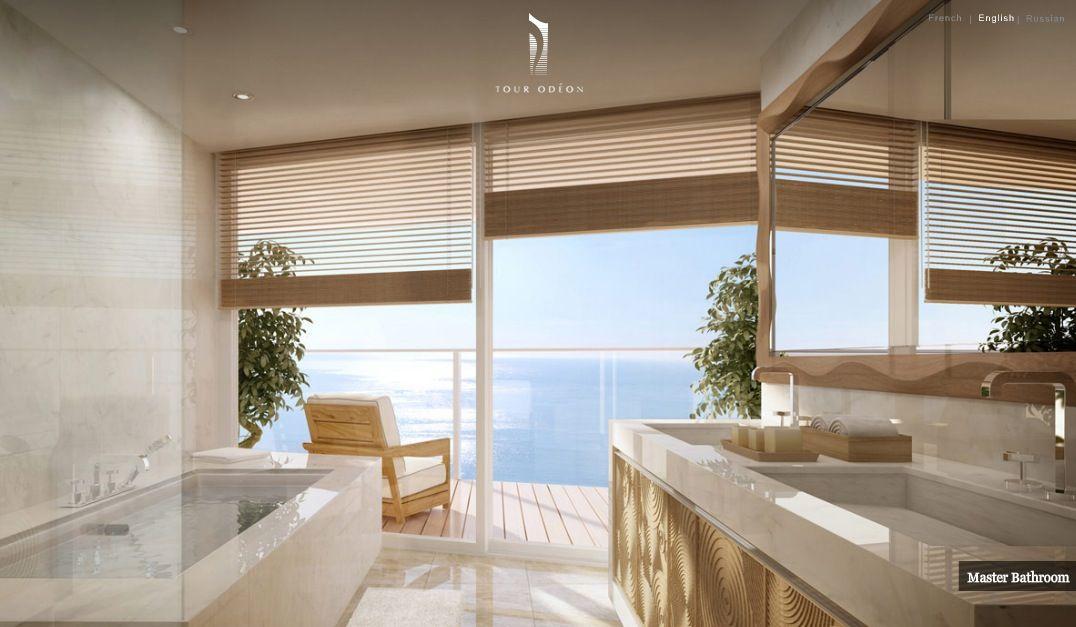 View Bathroom Designs Master Bathroom With Deck Access And Ocean Views  Bathroom