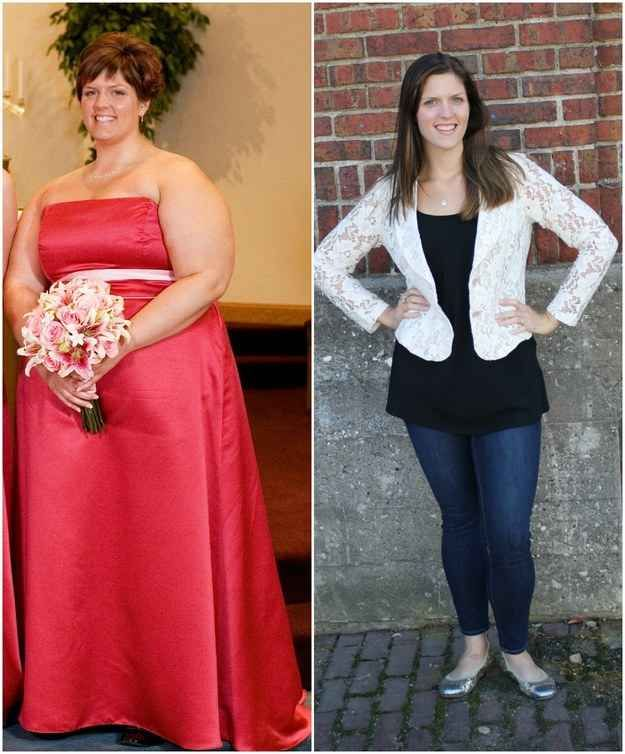 Over the past four years, she's managed to lose more than 170 pounds. Check this out @Connie Hamon Tiscareno