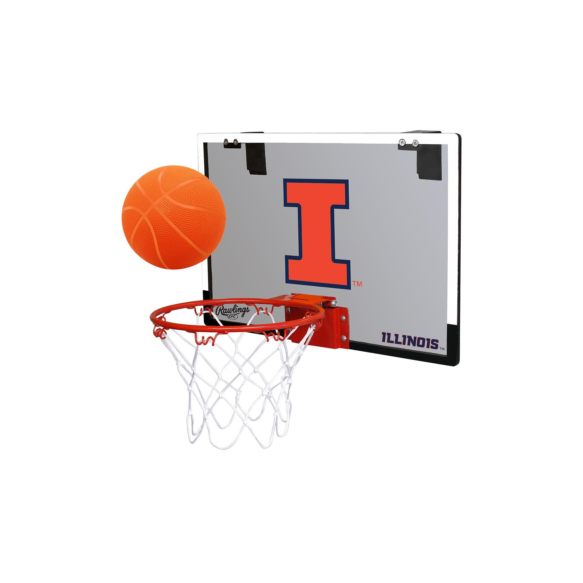 NCAA Illinois Fighting Illini RawlingsToy Basketball Set