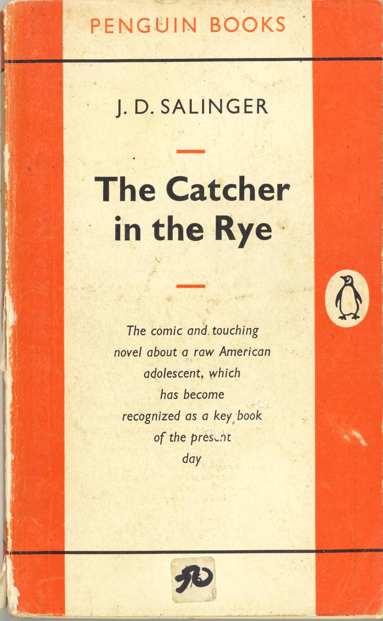 J.D. Salinger ~ The Catcher In the Rye    #penguinbooks #penguinclassics