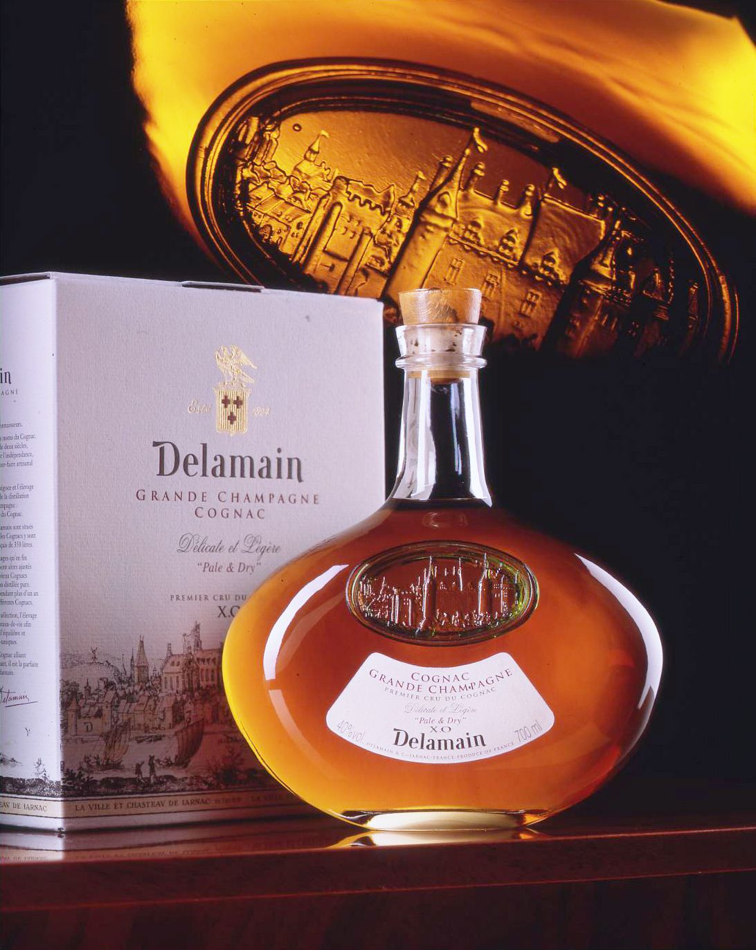 Delamain Grande Champagne Xo Cognac Memento Linea