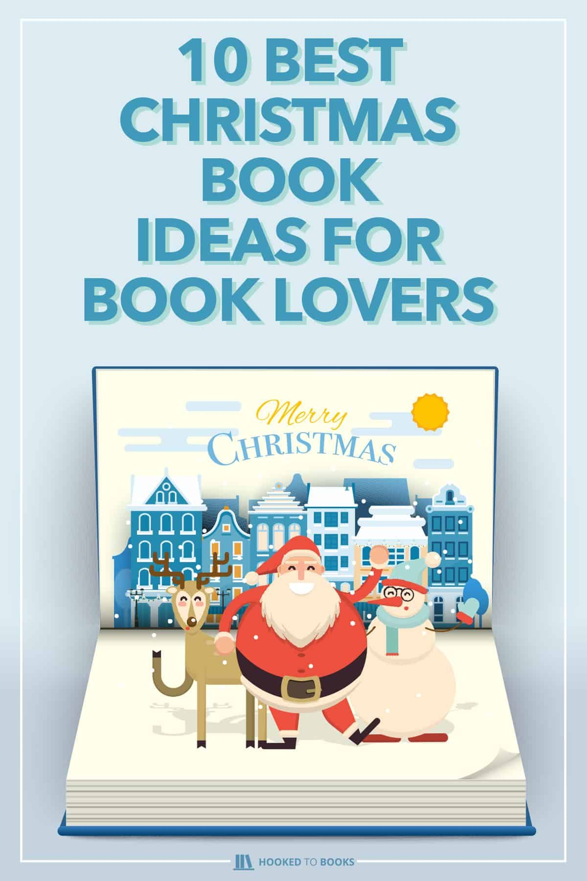 Book lovers can quickly get into holiday spirit with a good Christmas book. Is there a better way to spend the next few weeks reading a new Christmas book? Here's a selection of classic tales that will surely please every avid reader. #christmasfeels #holidays #christmasreference #hookedtobooks #christmasbooks #booklovers