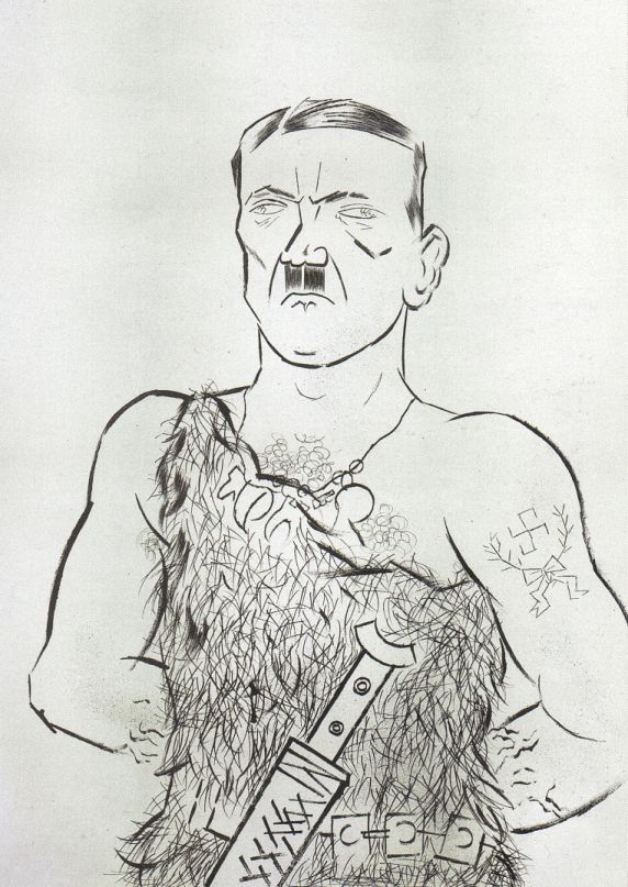 Siegfried Hitler by George Grosz (1922)
