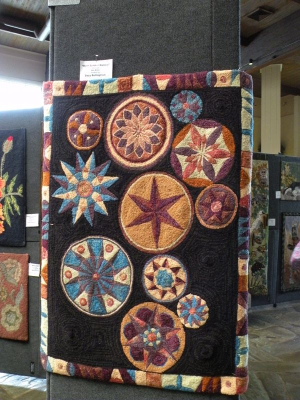 2011 ATHA Biennial Photos - Woolwrights Rug Hooking Guild